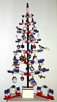 Patriotic Feather Tree