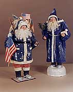 Patriotic Santa / Santa In Blue